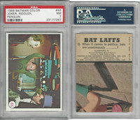 1966 Topps, Batman Color Photo, #48 Joker, Riddler, Penguin, PSA 7 NM
