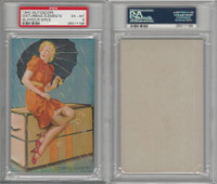 W424-2d Mutoscope, Glorified Glamour Girls, 1940, Disturbing Ele, PSA 6 EXMT