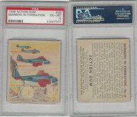 R1 Goudey, Action Gum, 1938, #26 Bombers In Formation, PSA 6 EXMT