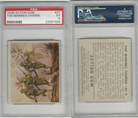 R1 Goudey, Action Gum, 1938, #27 The Marines Charge, PSA 5 EX
