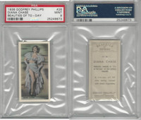 P50-91b Phillips, Beauties Of To-Day, 1938, #26 Diana Chase, PSA 9 Mint