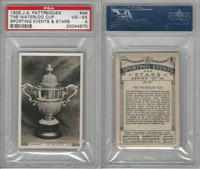 P18-78 Pattreiouex, Sporting Events, 1935, #48 Waterloo Cup Coursing, PSA 4