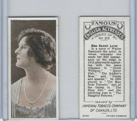 C9 Imperial Tobacco, Famous English Actresses, 1924, #35 Nancie Lovat
