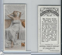 C9 Imperial Tobacco, Famous English Actresses, 1924, #42 Tommy Sinclair
