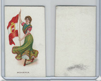 C91 Imperial Tobacco, Flag Girls, 1910, Bohemia
