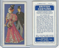 B0-0 Brooke Bond Tea, British Costume, 1967, #39 Day Clothes