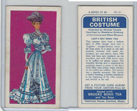 B0-0 Brooke Bond Tea, British Costume, 1967, #41 Lady's Day Dress