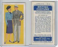 B0-0 Brooke Bond Tea, British Costume, 1967, #48 Day Clothes 1941