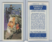 B0-0 Brooke Bond Tea, Famous People, 1967, #10 William Booth