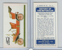 B0-0 Brooke Bond Tea, History Motor Car, 1974, #11 Ford Model T