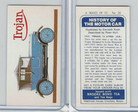 B0-0 Brooke Bond Tea, History Motor Car, 1974, #20 Trojan