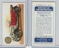 B0-0 Brooke Bond Tea, History Motor Car, 1974, #21 Vaushall