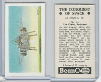 B0-0 Beano, Conquest Of Space, 1956, #14 The Flying Bedstead