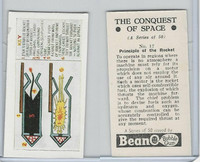 B0-0 Beano, Conquest Of Space, 1956, #17 Principle of the Rocket