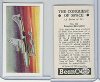 B0-0 Beano, Conquest Of Space, 1956, #25 Douglas Skyrocket