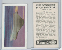 B0-0 Beano, Conquest Of Space, 1956, #27 Stratosphere Air Liner II