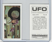 B0-0 Bassett, UFO, 1974 Space Cards, #26 Control Sphere