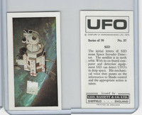 B0-0 Bassett, UFO, 1974 Space Cards, #37 SID Space Intruder Detector