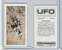 B0-0 Bassett, UFO, 1974 Space Cards, #50 Moonbase