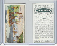 C0-0 Cadbury Chocolate, Transport, 1925, #2 Head Loads Gold Coast