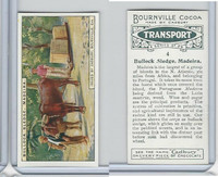C0-0 Cadbury Chocolate, Transport, 1925, #4 Bullock Sledge, Madeira