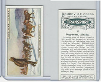 C0-0 Cadbury Chocolate, Transport, 1925, #6 Dog Team, Alaska