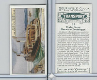 C0-0 Cadbury Chocolate, Transport, 1925, #16 Train Ferry, Harwich-Zeebrugge