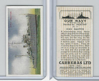 C18-62 Carreras, Our Navy, 1937, #17 HMS Halcyon