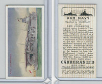 C18-62 Carreras, Our Navy, 1937, #18 HMS Courageous
