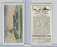 C18-62 Carreras, Our Navy, 1937, #20 HMS Glorious