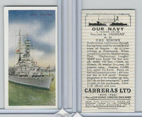 C18-62 Carreras, Our Navy, 1937, #24 HMS Renown