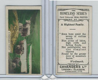 C48-25 Cavanders, Homeland Series, 1924, #24 A Highland Family