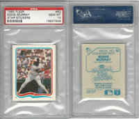 1985 Fleer Star Stickers Baseball, #62 Eddie Murray HOF, Orioles, PSA 10 Gem