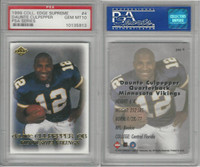 1999 Collectors Edge Football, #4 Daunte Culpepper, Vikings, PSA 10 Gem