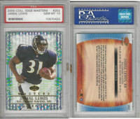 2000 Collectors Edge Football, #1202 Jamal Lewis, Ravens, PSA 10 Gem