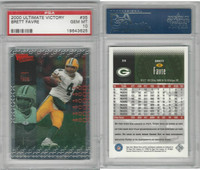 2000 Upper Deck Ultimate Football, #35 Brett Favre, Packers, PSA 10 Gem