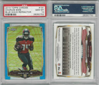 2014 Topps Chrome Football, #191 Charles Sims RC, Cardinals, PSA 10 Gem