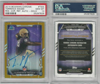 2015 Bowman Chrome Football, #TMA Terrence Magee AUTO RC, PSA 10 Gem