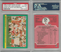 1984 Fleer Team Action Football, #53 Tampa Bay Buccaneers, PSA 10 Gem