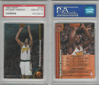 1998 Topps Finest Basketball, #229 Antawn Jamison, Warriors, PSA 10 Gem