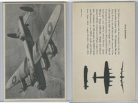 WC 1940's Official Photo Card, WW II Airplanes (4.5X7 in), Avro Lancaster