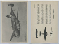 WC 1940's Official Photo Card, WW II Airplanes (4.5X7 in), Lockheed A29 Hudson