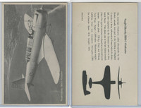 WC 1940's Official Photo Card, WW II Airplanes (4.5X7 in), Vought Vindicator