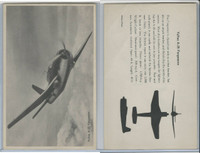 WC 1940's Official Photo Card, WW II Airplanes (4.5X7 in), Vultee A35 Vengeance
