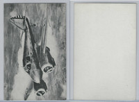 WC 1940's Photo Card, WW II Airplanes (5X8 in), AT9 Curtiss Advanced Trainer