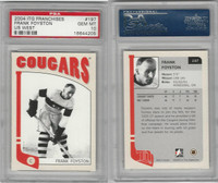 2004 In the Game Franchises Hockey, #197 Frank Foyston, Cougars, PSA 10 Gem