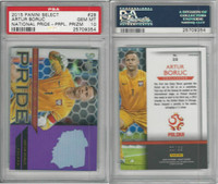 2015 Panini Select National Pride Soccer, #28 Artur Boruc, Poland, PSA 10 Gem