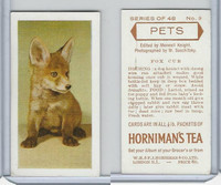 H0-0 Hornimans Tea, Pets, 1960, #9 Fox Cub