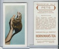 H0-0 Hornimans Tea, Pets, 1960, #11 Mongoose