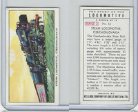 K0-0 Kellogg GB, Story of the Locomotive, 1963, #12 Steam, Czechoslovakia